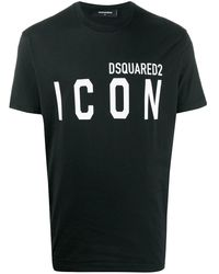DSquared² Icon T-shirt - Black