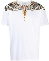 Marcelo Burlon White Grizzly Wings T-shirt