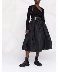 Alexander McQueen Black Cashmere Shrug