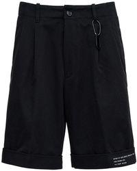 Moncler Genius 7 Moncler Fragment Hiroshi Fujiwara Bermuda Shorts - Black