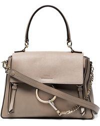 Chloé - Faye Day Medium Leather Shoulder Bag - Lyst