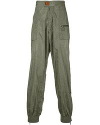 Off-White c/o Virgil Abloh Thermo Track Trousers - Green