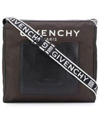 Givenchy 4g Messenger Bag - Black