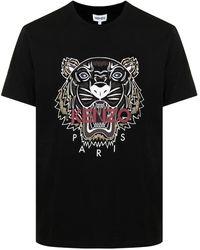 KENZO Black Tigre T-shirt
