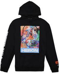 Heron Preston Felpa con stampa - Nero