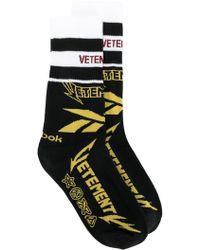 Vetements - Racer Socks - Lyst