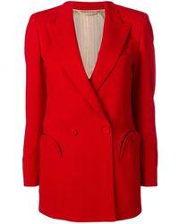 Blazé Milano Red Nikita Double-breasted Jacket