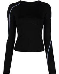 Off-White c/o Virgil Abloh Active Logo Long-sleeve T-shirt - Black
