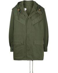 Junya Watanabe Hooded Parka - Green