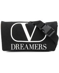 Valentino Garavani Vlogo Dreamers Belt Bag - Black