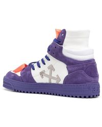 Off-White c/o Virgil Abloh Purple Off-court 3.0 Trainers