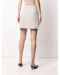 Self-Portrait - Check-print A-line Skirt - Lyst