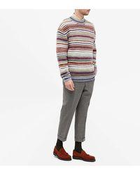 Acne Studios Striped Jumper - Multicolour
