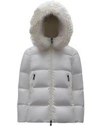 Moncler - White Laiche Down Jacket - Lyst