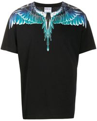 Marcelo Burlon T-shirt Wings - Nero