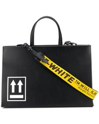 Off-White c/o Virgil Abloh - Large Box Tote Bag - Lyst