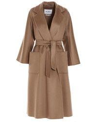 Max Mara Labbro Brown Cashmere Coat