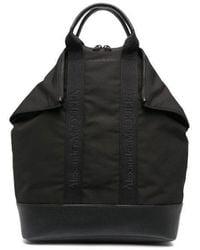Alexander McQueen Tote-style Logo Backpack - Black