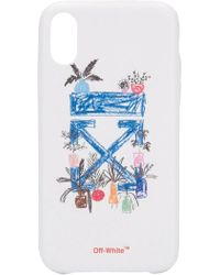 Off-White c/o Virgil Abloh Arrow Iphone Xr Case - Blue