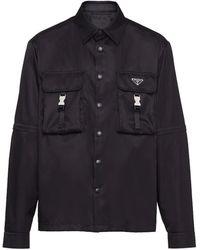 Prada Black Re-nylon Shirt