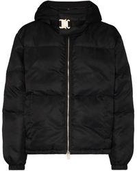 1017 ALYX 9SM Buckle-detail padded jacket - Nero