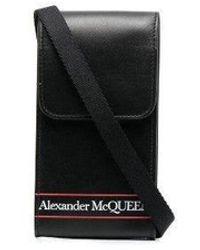 Alexander McQueen Custodia per Smartphone Selvedge - Nero
