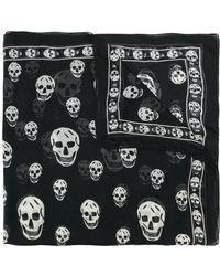 Alexander McQueen - Skull Scarf - Lyst