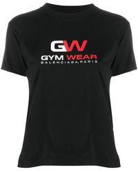 Balenciaga T-shirt Gym Wear - Nero
