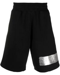 Givenchy Black Sports Shorts With Logo
