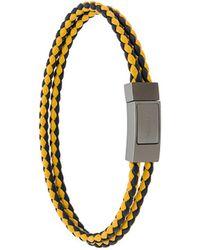 Prada Double Braided Bracelet - Multicolour