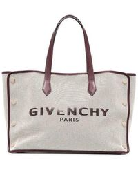 Givenchy Borsa tote Bond media di tela - Neutro