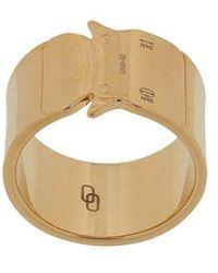 1017 ALYX 9SM Buckle Ring - Metallic