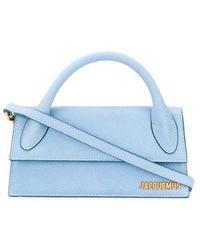 Jacquemus Borsa Le Chiquito Long - Blu