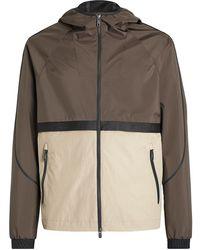 Z Zegna Color-block Design Jacket - Multicolour
