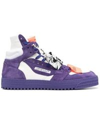 Off-White c/o Virgil Abloh Purple Off-court 3.0 Sneakers