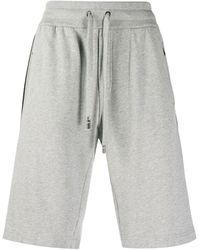 Dolce & Gabbana Side Stripe Track Shorts - Gray