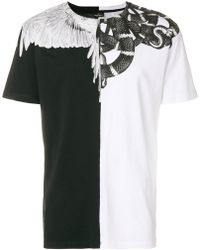 Marcelo Burlon - Snake And Feather T-shirt - Lyst