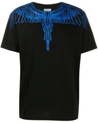 Marcelo Burlon T-shirt Fluo Wings - Nero