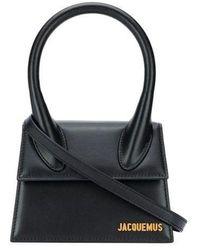 Jacquemus Le Chiquito Moyen Bag - Black