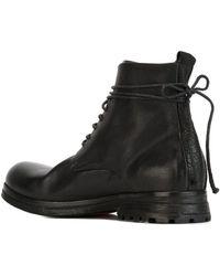 Marsèll 'zucca Zeppa' Biker Boots - Black