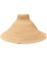 Jacquemus Le Chapeau Valensole Raffia Hat - Natural
