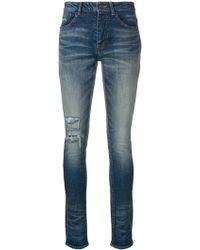 Saint Laurent - Skinny Jeans - Lyst