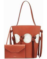Neous Brown Venus Bucket Bag