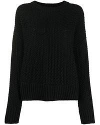 P.A.R.O.S.H. Long-sleeve Knit Jumper - Black