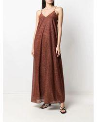 Oséree Sparkling Maxi Dress - Brown
