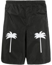 Palm Angels Palm Swimshorts - Black