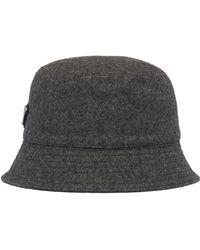 Prada Cappello Loden grigio