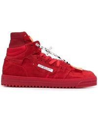 Off-White c/o Virgil Abloh Red Off-court 3.0 Trainers
