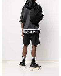 Versace La Medusa Black Nylon Backpack