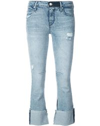 RTA - Turn Up Hem Jeans - Lyst